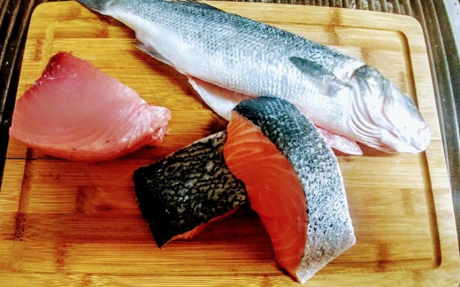 Fresh fish from the UK on a weekly basis